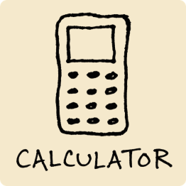 Calculator Visual Vocabulary
